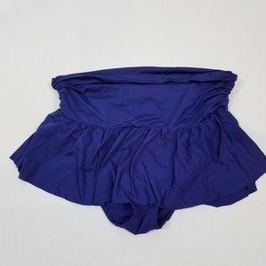 Ralph lauren lrl swim skirt bottoms bikini ruched